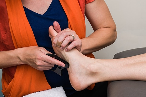 Foot physical therapy