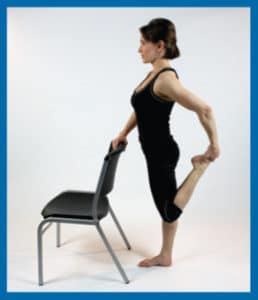 Lower extremity stretches