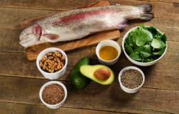 Foods That Decrease Inflammation highest in Omega-3 fatty acids. Healthy Eating. Fish, nuts, leafy greens, grains