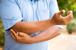 Elbow pain and arthritis or cubital tunnel syndrome