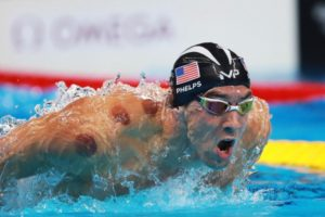 Michael Phelps and Cupping