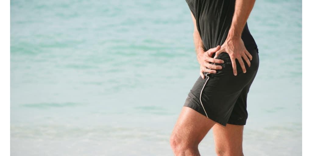 Hip bursitis or hip pain on a runner