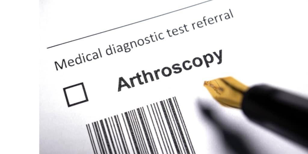 arthroscopy diagnosis for knee pain