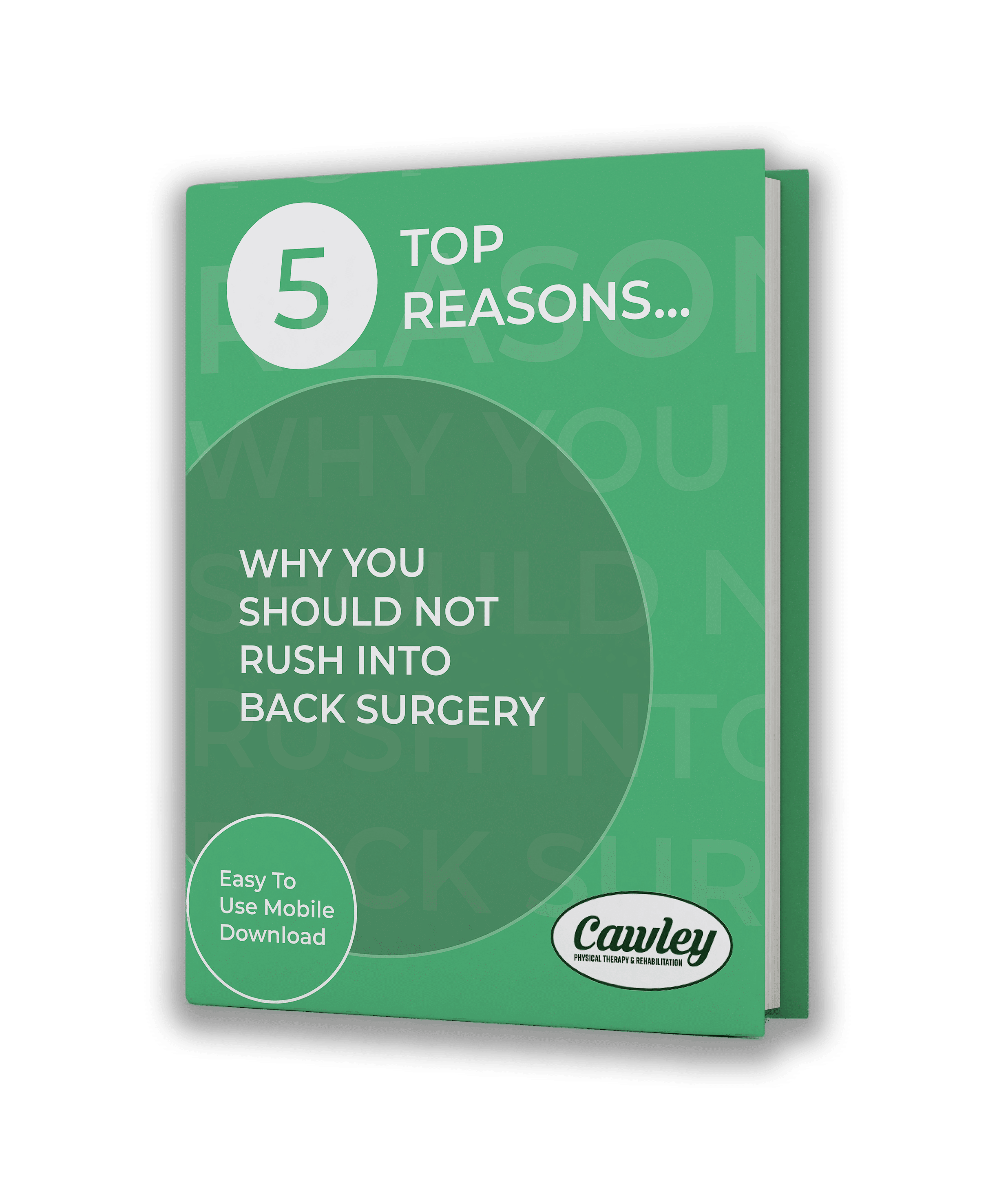 5 Top Reasons Why You Should Not Rush into Back Surgery
