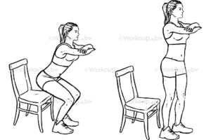 Desk exercises to do at home
